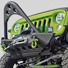 Jeep Wrangler Jk Jku Smittybilt Src Stinger Bumper Winch Mount Accessories 76524