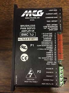 Mcg Bmc 7d Bmc7d Servo Brushless Amplifier Drive Be15a8e mc1