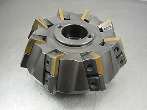 Kennametal 4 Indexable Face Mill 1 5 Arbor 101552r05 5235cd2 loc1950b