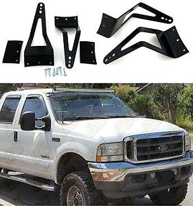 50 52 Light Bar Mount Brackets For 99 16 Ford F250 f350 f450 00 05 Excursion