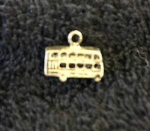 Sterling Silver Scrap Not 1 Grams Famous Double Decker London Bus Charm B135