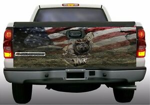 Usmc Marines Devil Dog Camouflage Truck Tailgate Vinyl Graphic Decal Wraps