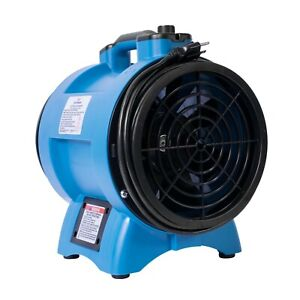 Xpower X 8 1 3 Hp Variable Speed Confined Space Ventilation Exhaust Blower Fan