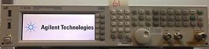 Agilent N5172b 506 9 Khz To 6 Ghz Exg Rf Vector Signal Generator Loaded W Option