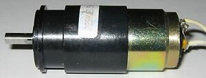 Faulhaber Motor And Gearhead 6 V 650 Rpm 2230 V006s W Noise Capacitor