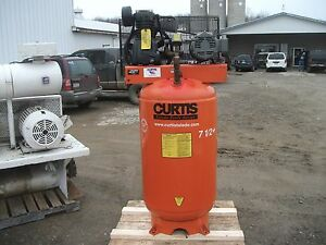 Curtis 80 Gallon Air Compressor Model 740vt8 a9 80 Gallon