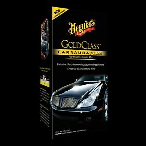 Meguiar S G7016 Gold Class Carnauba Plus Premium Liquid Wax 16 Oz Free Shipping