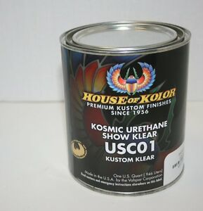 House Of Kolor Usc01 Kosmic Show Clear Coat 1 Quart