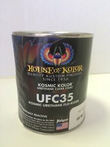House Of Kolor Ufc35 Polyurethane Enamel Flo Clear Coat 1 Quart