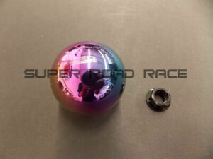 Blox Neo Chrome Limited 490 Spherical Shift Knob 10x1 5 For Honda acura