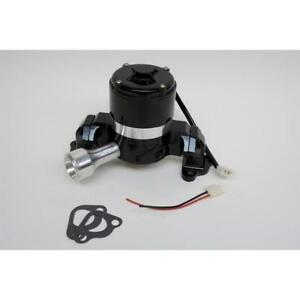 Prw Water Pump 4430207 35 Gpm Black Powdercoat Aluminum Electric For Ford Sbf