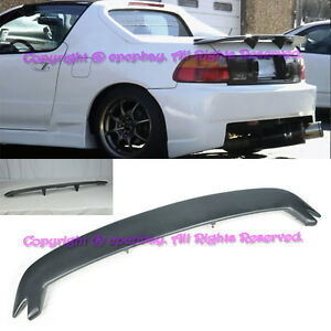 Fit 93 97 Honda Civic Del Sol Mugen Style Frp Rear Spoiler Wing Body Kit Eg2 Eg1
