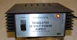 Micronta 22 120a Dc Power Supply 13 8 Volts Dc 2 5 Amps