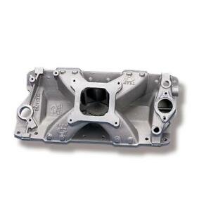 Weiand Intake Manifold 7530wnd Team G Single Plane Satin Aluminum For Sbc
