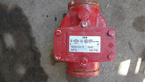 Tyco Fire Suppression Tfp Check Valve Swing Cv 1fr 4 300 Psi