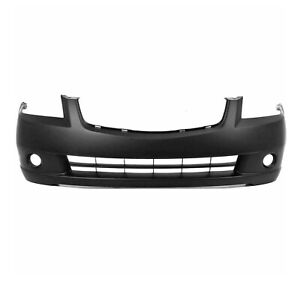 New Primered Front Bumper Cover Fascia For 2005 2006 Nissan Altima Sedan 05 06