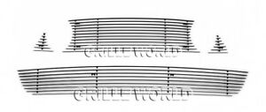 Fit 2013 2014 Ford Mustang Gt Billet Grill Insert Combo