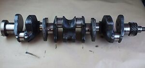 Ih International Harvester Farmall 460 D236 Diesel Engine Motor Crankshaft Crank