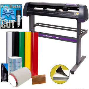 34 Uscutter Vinyl Cutter Plotter Sign Cutting Machine W software Supplies
