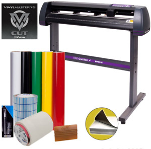 34 Uscutter Vinyl Cutter Sign Cutting Machine W vinylmaster Supplies bundle