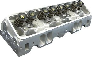 Afr Sbc 245cc Competition Cnc Ported Cylinder Heads Titanium Retainers 1137 ti