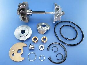 Volvo V70 S70 S80 N2p 2 0l Turbo Charger Comp Wheel Shaft Rebuild Kit