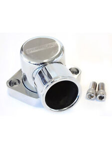 Aeroflow Billet 90 Degree Thermostat Housing Chrome For Ford 302 351c Af64 2039c