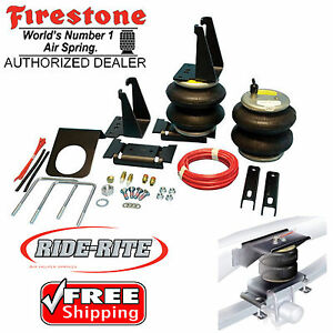 Firestone 2445 Ride Rite Rear Air Bags For 07 20 Toyota Tundra Trd 2wd 4wd 4x4