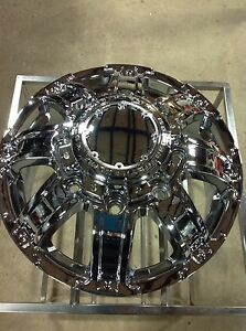 New 17x6 5 Ultra Gauntlet 024 Dually Wheel 8 X 210 Front