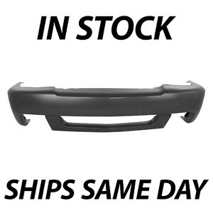 New Primered Front Bumper Cover For 2003 2007 Chevy Silverado 1500 Ss 03 07