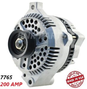 200 Amp 7765 Alternator Ford Mercury Taurus Sable High Output Performance Hd Usa