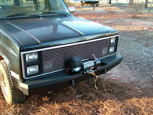 Custom Winch Bumper For Chevy Gmc Trucks 1973 1987 Made To Order