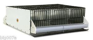 Gqf Mfg 0303 3 Section Quail Or Chukar Breeding Pen With Roll Out Nest