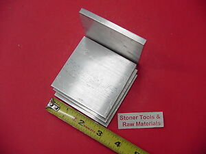 4 Pieces 1 4 X 3 Aluminum 6061 Flat Bar 3 Long T6511 Solid Plate Mill Stock