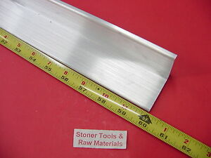 2 x 2 x 1 4 Aluminum 6061 Angle Bar 60 Long T6 Extruded Mill Stock 25 Thick