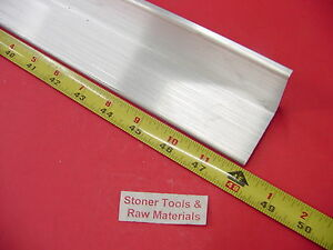 2 x 2 x 1 4 Aluminum 6061 Angle Bar 48 Long T6 Extruded Mill Stock 25 Thick