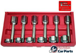 6 Piece 12 Point Flare Nut Crowsfoot Wrenches T E Tools Crw1200