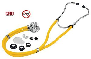 Stethoscope Sprague Rappaport Dual Head Non Chill Ring Latex Free Choose Color