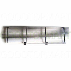 For Ford Ranger Xlt Xl 2wd 01 03 Upper Billet Grille Insert Shell Closed