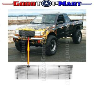 For Toyota Tacoma 1998 1999 2000 Upper Billet Grille Insert Replacement Cut Out