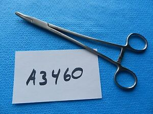 Millennium Surgical 8 25 Curved Heaney Needle Holder 1 419 New