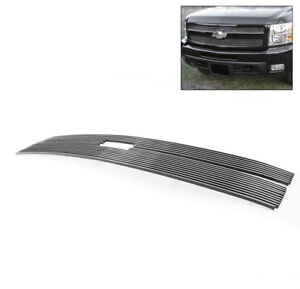 2011 2012 Chevy Silverado 2500 3500 Hd Top Upper Billet Grille Grill Insert 2pcs