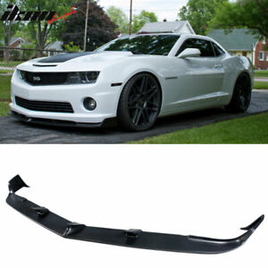For 10 13 Chevy Camaro V8 Ss Front Bumper Lip Spoiler Street Style Lower Spoiler
