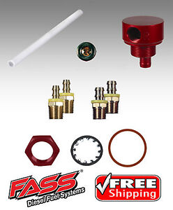 Fass Fuel Pump 5 8 Suction Tube Kit For Chevy Dodge Gmc Ford Diesel Stk 1002