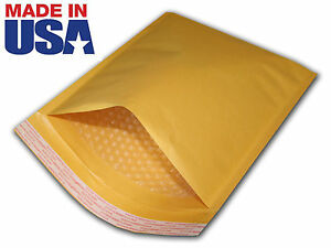 200 2 8 5x12 Gold Kraft Bubble Mailers Padded Envelop Dpca 8 5 x12