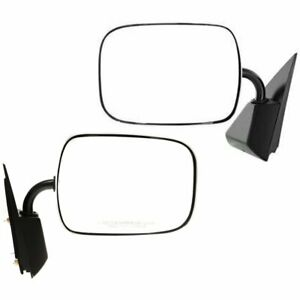 New Mirrors Set Of 2 Driver Passenger Side For Chevy Suburban Lh Rh Tahoe Pair