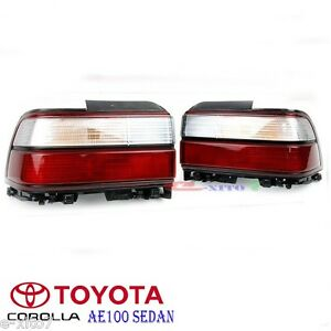 1991 95 Toyota Ae100 Ae101 Corolla E100 Sedan Rear Kouki Tail Lamp Lights Lh Rh
