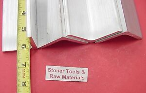 4 Pieces 2 x 2 x 1 4 Aluminum 6061 Angle Bar 6 Long T6 Extruded Mill Stock