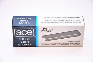 Ace 74001 1 4 Standard Office Staple 1 Case Of 60 Boxes