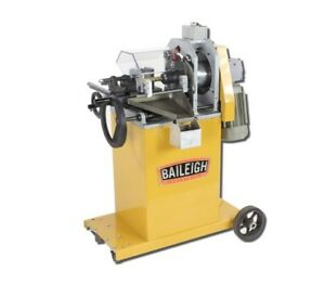 Baileigh Tn 800 Tube And Pipe End Mill Notcher New